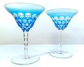 Waterford Simply Blue 2-Piece Martini Glass Set