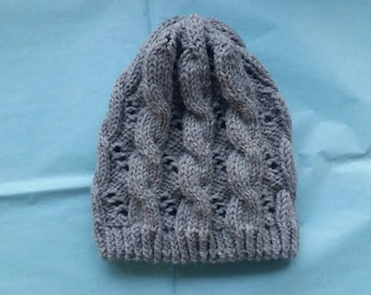 Hermione Granger Inspired cables and eyelets beanie - Half Blood Prince Fashion Inspirations