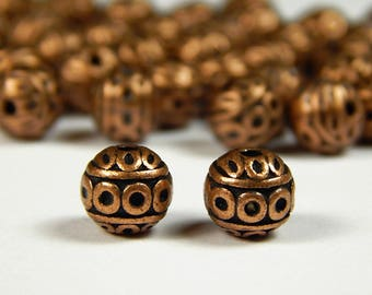 Antique Silver Metal Alloy Donut Spacer Beads 2 x 8mm 120 Pcs Art Hobby Crafts