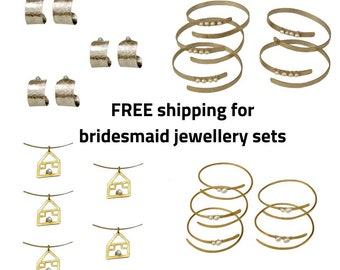 Wedding jewelry, Bridesmaid jewelry set, bridesmaid proposal, made of honor gift, bridal jewelry, bidal jewelry set, mother of the bride,