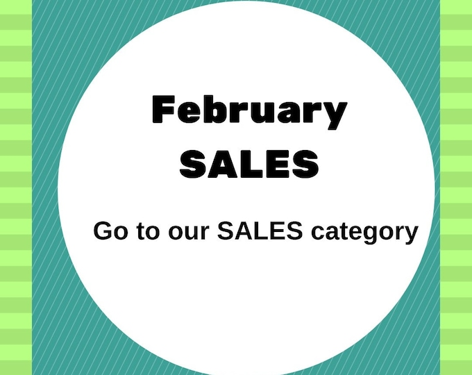 Featured listing image: February sales,  jewelry sales , jewelry discounts offers and deals