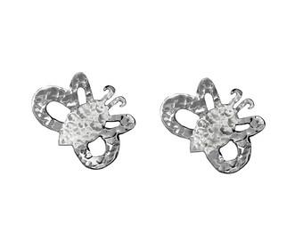 Small stud earrings