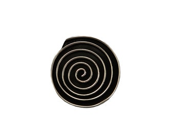 Mens large pendant, mens spiral pendant, tribal jewellery, silver boho jewellery, mens circle pendant, gift for him under 25