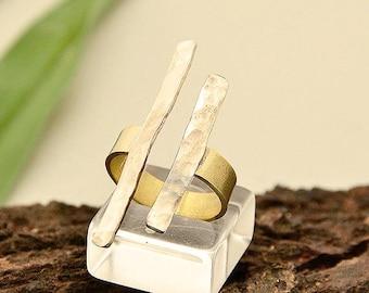 German silver rings