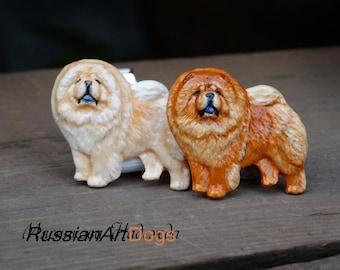 Chow Chow Charm Jewelry Sterling Silver Handmade Dog Charm C02-C