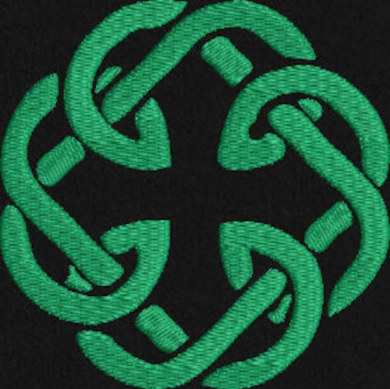 Celtic Irish Father Daughter Knot Machine Embroidery Design St Etsy