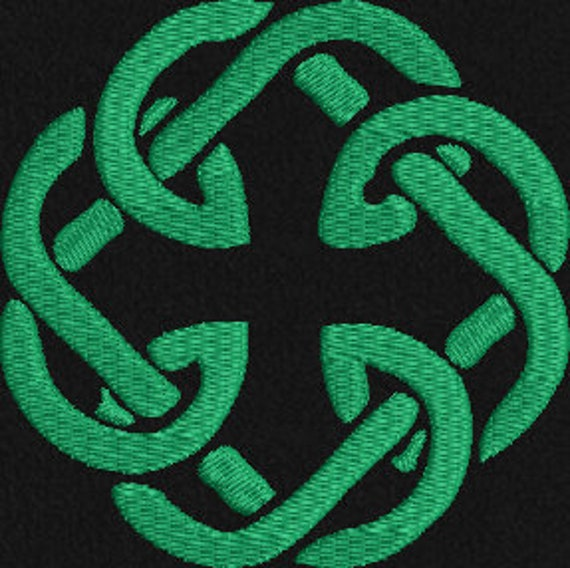 Celtic Irish Father Daughter Knot Machine Embroidery Etsy