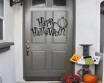 Happy Halloween #1 - Wall or Window Decal