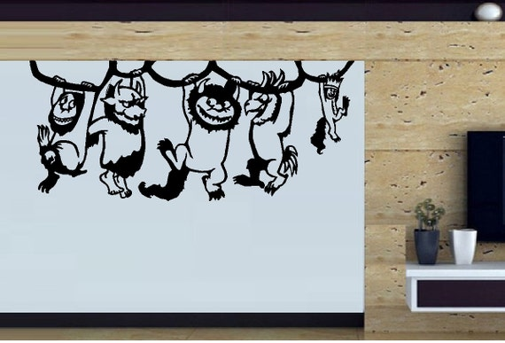 Wall Decal Children Where the wild things are  #3