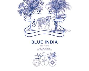 Pre-made Logo design- India Logo design - Tiger Logo design- palm logo design- vintage logo design- tea logo design- exotic spice logo