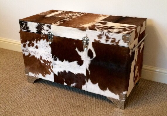 Awesome Large Cowhide Ottoman Trunks And Chests Coffee Table Furniture Tv Stand Home And Living Gmtry Best Dining Table And Chair Ideas Images Gmtryco