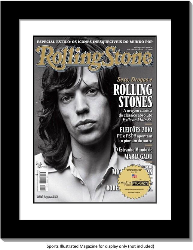 Sammler Edition Rolling Stones Magazin Rahmen zeigt 1967 bis | Etsy