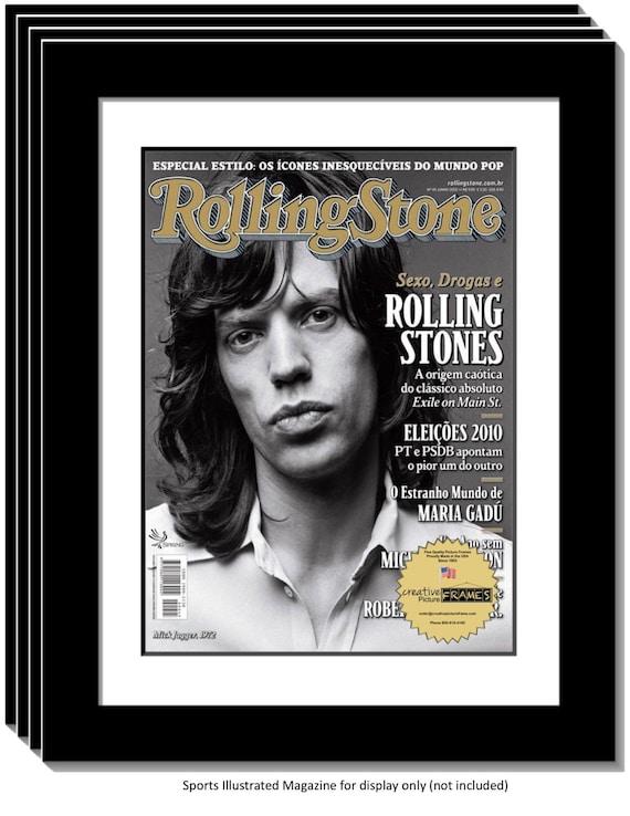 Collectors Edition Rolling Stones Magazine Frame, Displays 1967 Thru ...