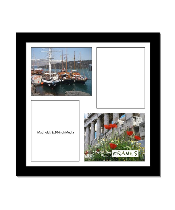 8x10 Inch 4 Opening Picture Frame 20x20 Inch Square Picture Etsy