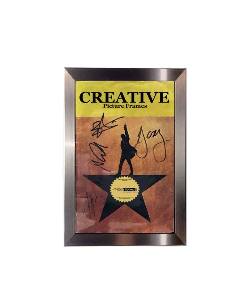 CreativePF [5 5x8 5] Theatre Frame, Holds 5 5x8 5-inch Media with Installed  Hanger and Easel (Booklet not Included)