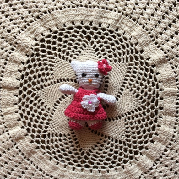Hello Kitty Häkeln Amigurumi Etsy