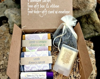 Lavender Gift Women Girl Gift Wrapped  Ships in  day, all natural  lavender. gifts for her not expensive