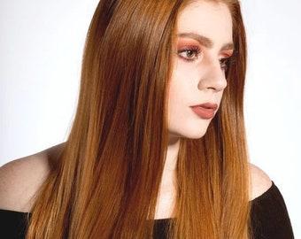 Hair loss breakage Oil Longer Hair Shiny healthy looking organic Vegan