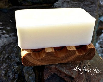 Rosacea Sensitive Skin Soap Wash, fragrance free no scent soap, goats milk soap pure clean baby skin soap wash