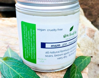 MSM Cream all natural smooth creamy