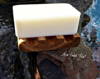 Goats Milk Soap Dry Sensitive Skin Soap Wash, CREAMY fragrance free no scent soap, goats milk soap pure clean baby skin soap wash