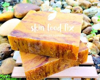 Soap Allspice Orange Patchouli Clove Cinnamon Amyris Cedarwood Anise, all natural vegan soap non gmo