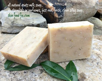 Soap Oatmeal Goat milk, fragrance free no scent soap, goats milk soap pure clean baby skin soap wash