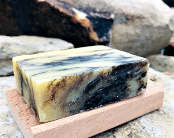 Patchouli Soap Hemp, Tangerine patchouli orange, all natural vegan soap non gmo, rustic handmade soap