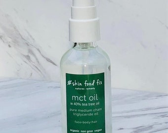 Malassezia MCT Oil, Medium Chain Triglycerides, C8 C10 caprylic, Vegan Organic, Candida Cutaneous