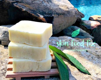 Scabies Skin Sulfur Sulphur Soap, Demodex Mites Tea Tree Oil