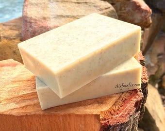 Psoriasis Soap Black Cumin Seed Oil, Oatmeal Goat milk, fragrance free no scent soap, goats milk soap pure clean baby skin soap wash