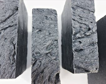 Tea Tree Charcoal Soap Detox Acne Oily Skin 85% ORGANIC peppermint and Tae Tree Charcoal Soap