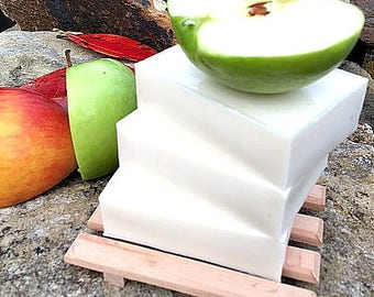 Apple Cider Vinegar Soap Vegan for acne on body or psoriasis pH Wash itchy dry skin  soap pure clean