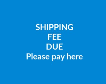 SHIPPING FEES Payment