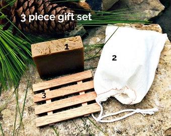 Pine Tar KP Bumps Psoriasis Eczema, mosquitos bug bites, soap for camping repel bugs