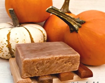 Soap Pumpkin Spice BEER, Pumpkin Soap with Clove Cinnamon Vanilla Cardamom, all natural vegan soap non gmo