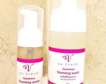 Menopause dry vagina wash feminine cleanser soothing relief
