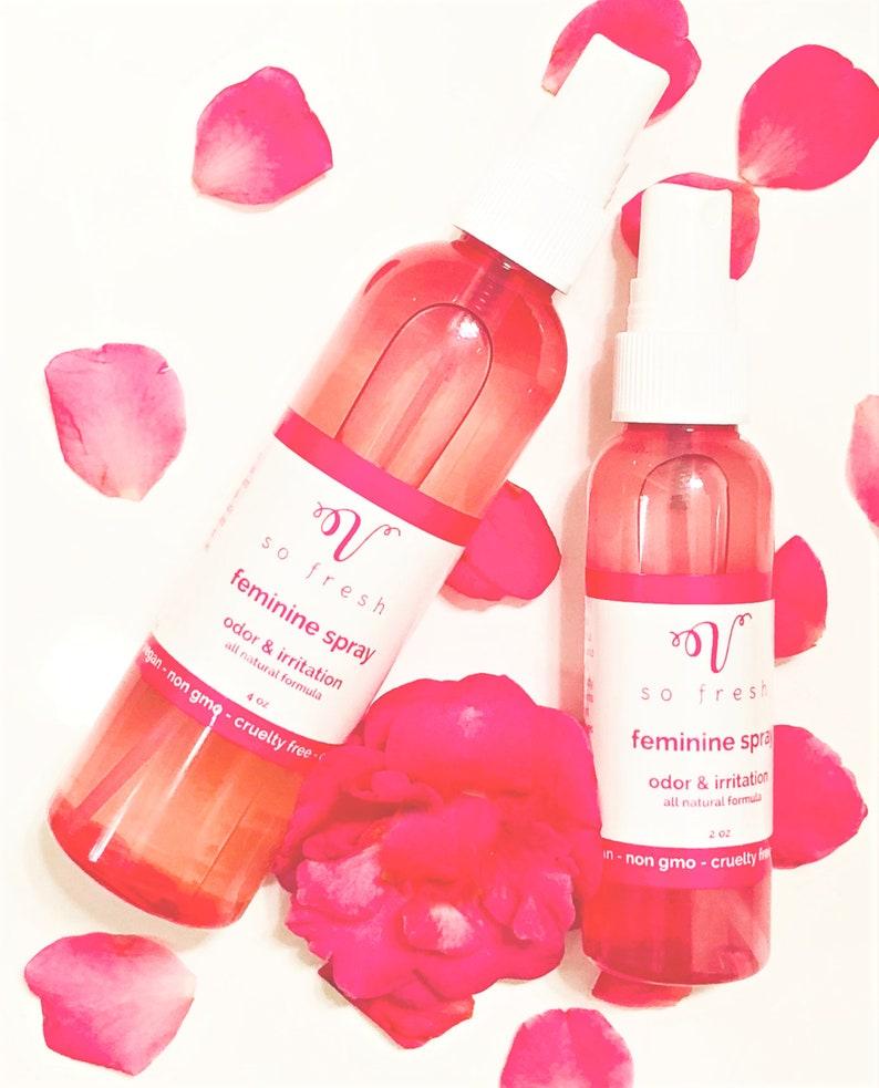 Spray Groin odor sweat, Feminine spray,organic pure clean on the go  cleanser spritz freshen stop odor minimize sweating