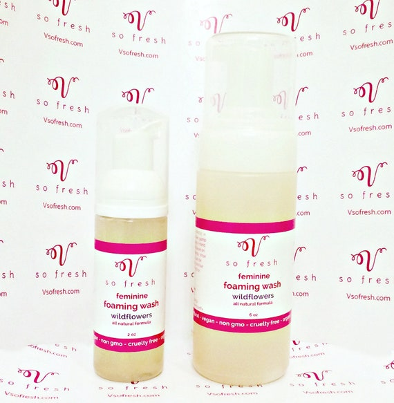 Intimate vaginal cleansers