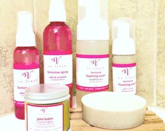 Feminine Wash Foam Intimate cleanser, Feminine Hygiene wash soap spray, vaginal itching odor, no hassle returns