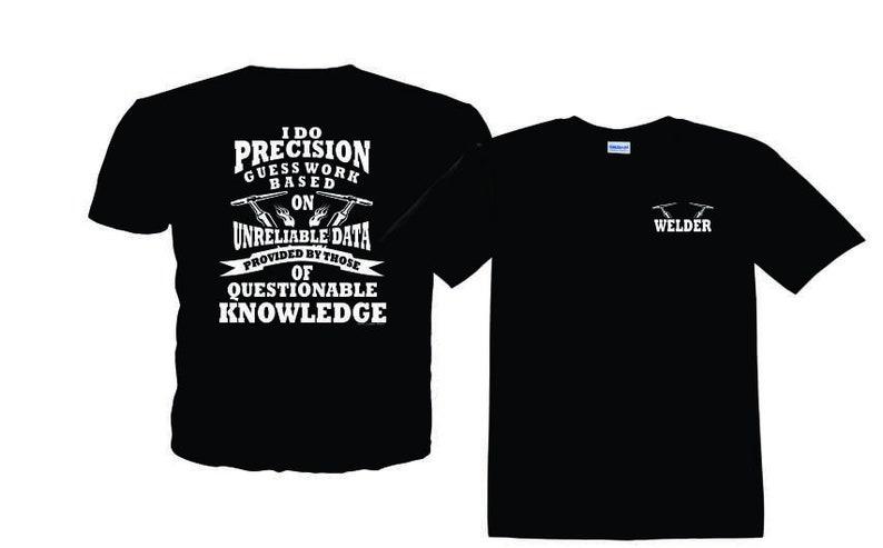 36640d9c Precision Guess Work T-Shirt | Etsy