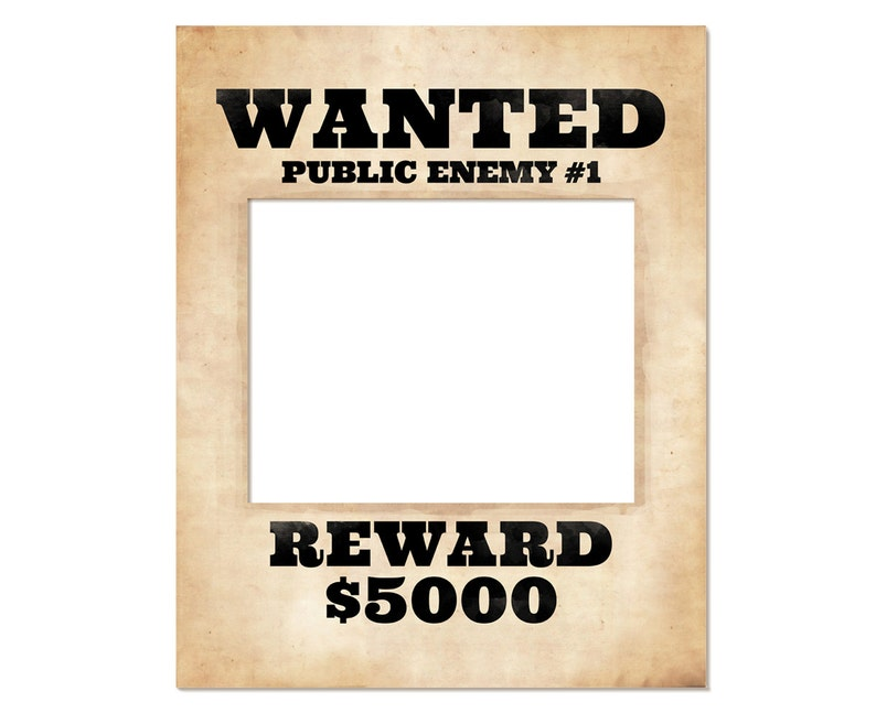 photo regarding Printable Wanted Poster identified as Photograph booth body prop. Printable preferred poster. Ideal indicator. Prohibition celebration products. Celebration decoration. Best Gatsby occasion decor.