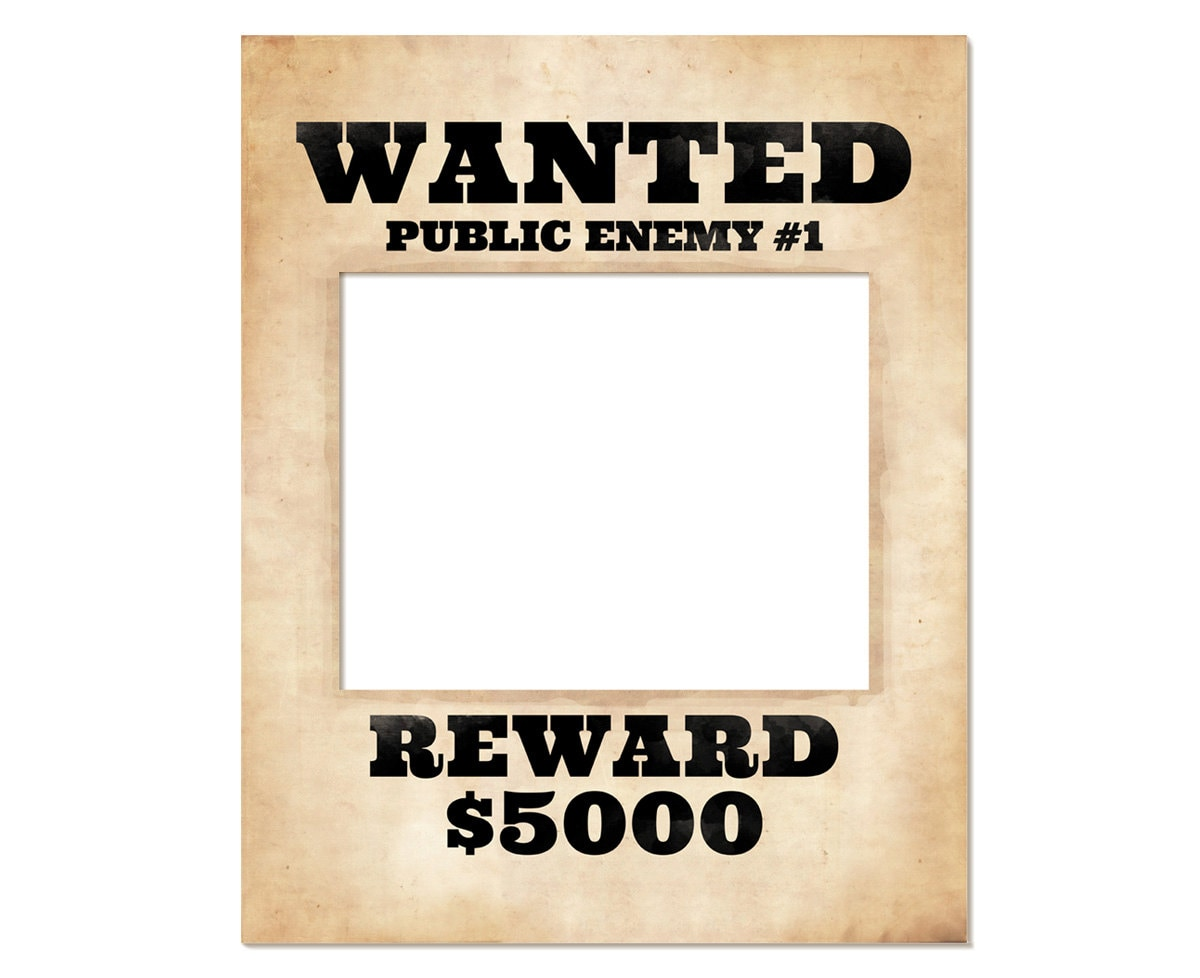 This is a graphic of Handy Wanted Poster Printable