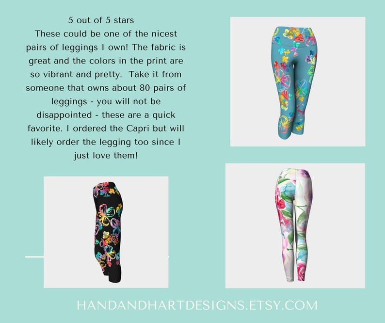 0fe0f34874473 Blue Printed Leggings Girls Legging with print Mom and Me | Etsy