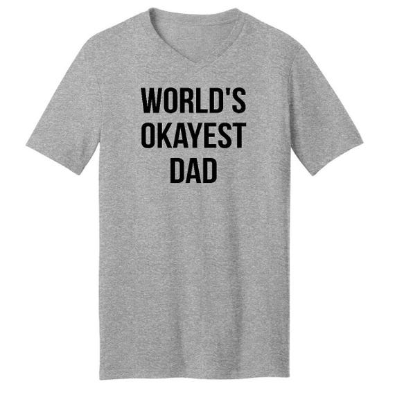 orlds okayest dad mens - 570×570
