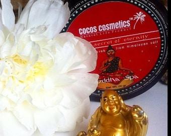 Body Spa Scrub / Buddha Himalayan pink salt scrub / floral scent body scrub/ exotic scrub