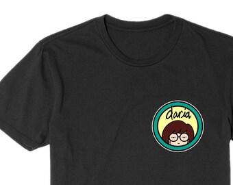 45d5a8d80 Daria Morgendorffer Classic Logo MTV Retro Sitcom 90s Show Cool Gift T Shirt  / Toddler / Youth / Adult T Shirt Best Seller 90s Cotton Shirt