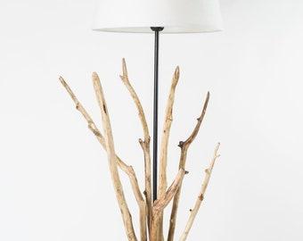 Lampe Bois Flotte Etsy