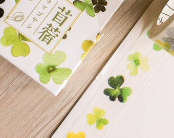 Cute washi tape - clover - poem tape | Cute Stationery