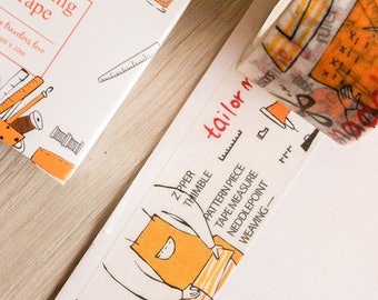 Cute washi tape - sewing | Cute Stationery